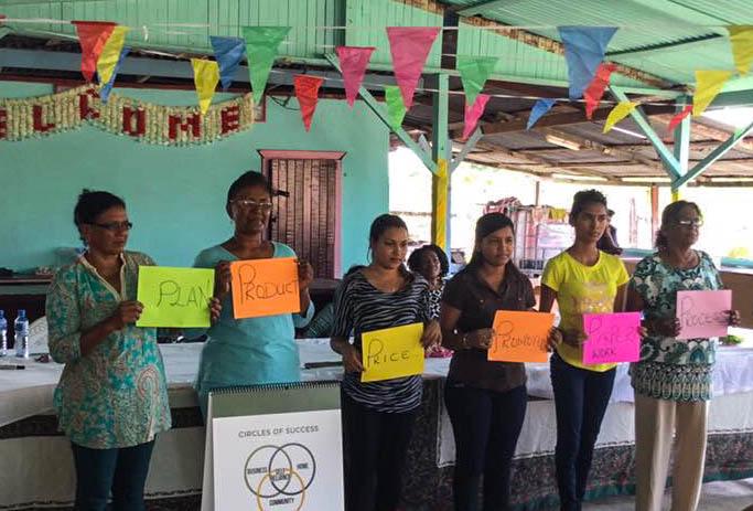 Interweave en Guyana