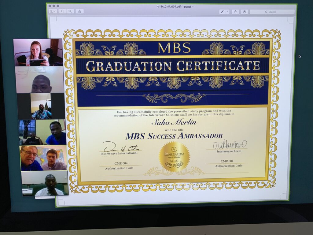 Graduation on the other side of the World