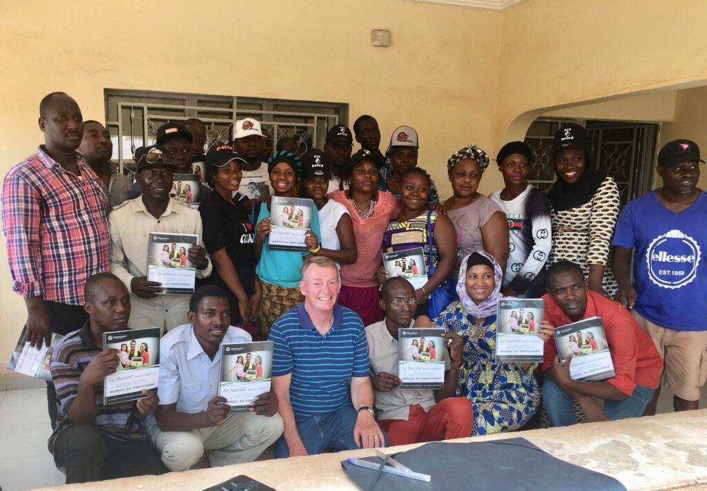 Hallando una familia en Mali