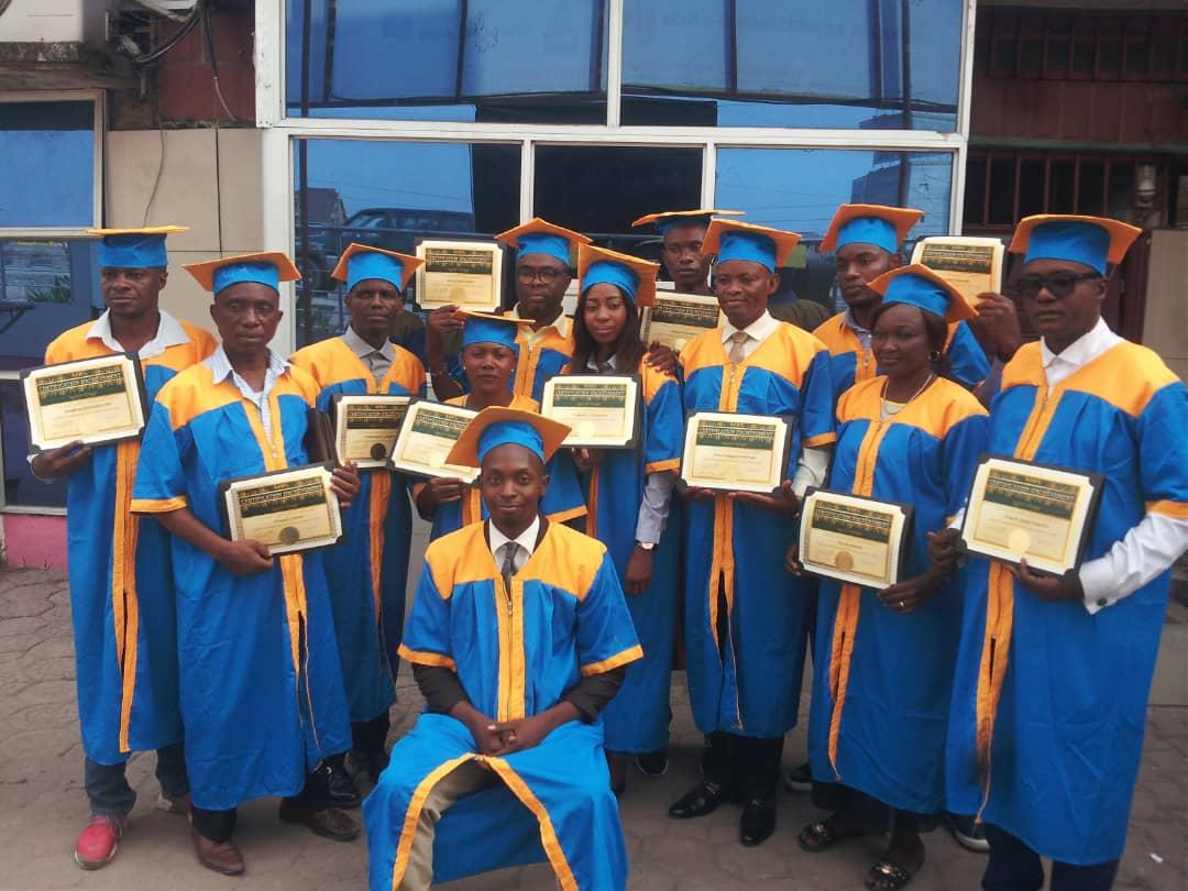 Graduación en el Congo