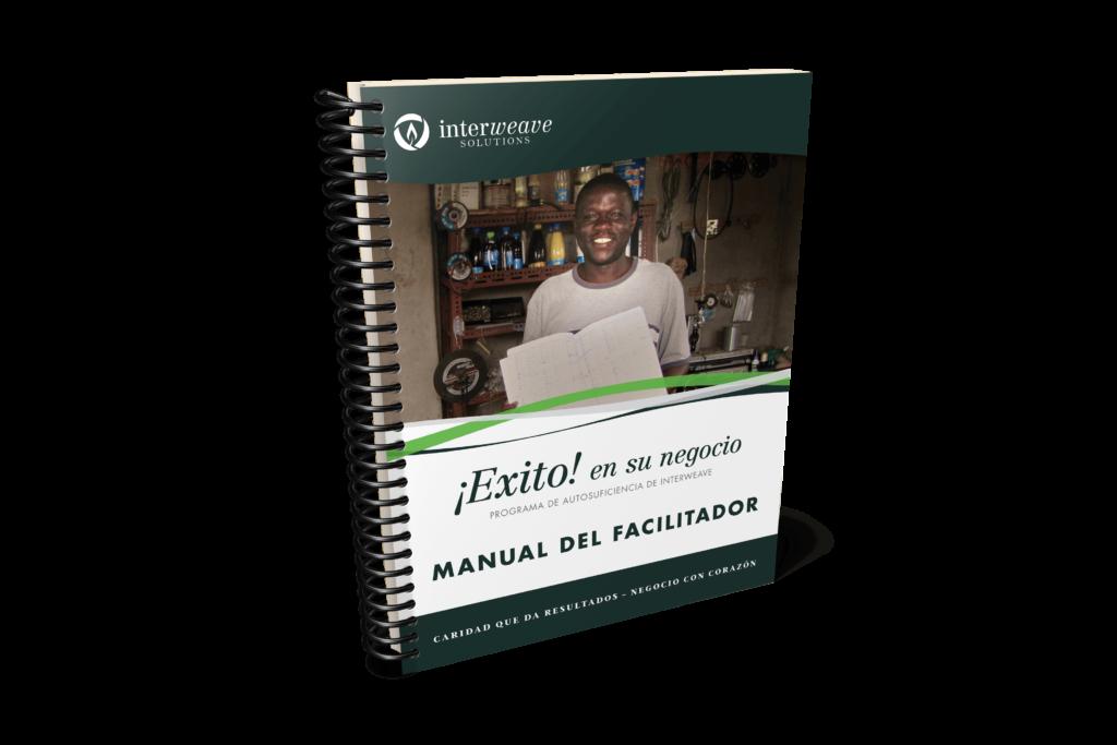 Descargar (3.7MB) Portada de Manual de Facilitador estilizado, en español, en el formato raster .png. Este archivo tiene un fondo transparente.