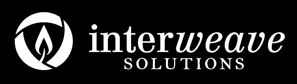 Descargar (100KB) Logotipo de Interweave Solutions, estilo horizontal, color blanco, en el format raster .png Este archivo tiene un fondo transparente.
