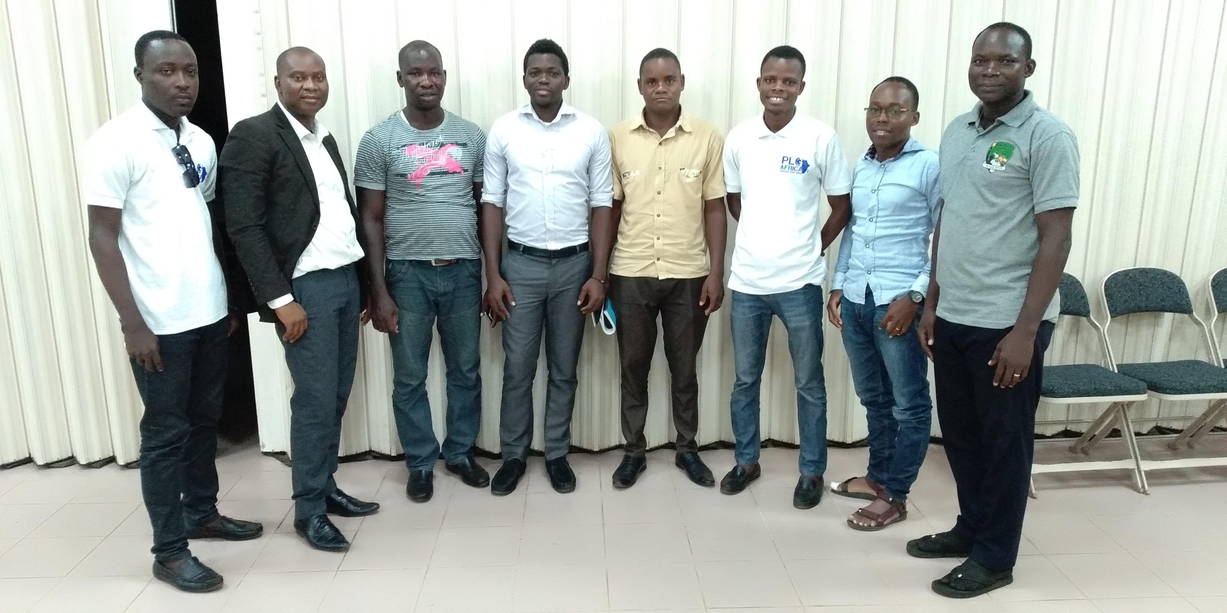 El primer grupo MBS en Togo