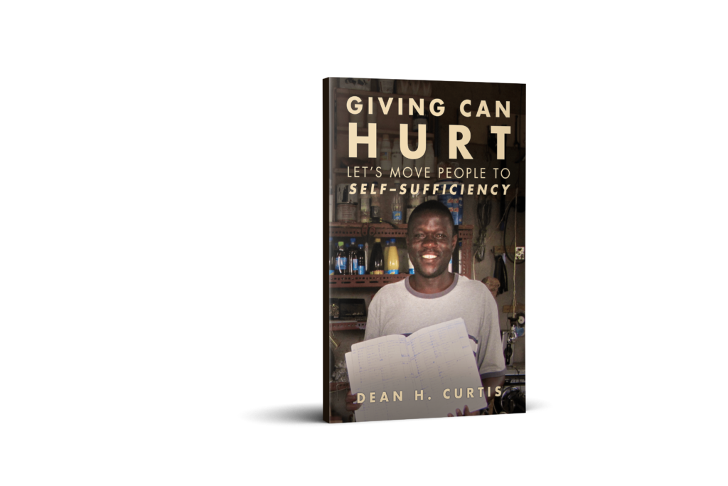 Do you want to learn more about Interweave's methodology?  Read cofounder Dean Curtis' book, Giving Can Hurt! All proceeds are invested as donations back into the organization.